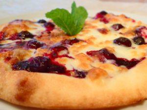ブルーベリーピザ